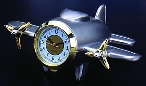 Airplane Clock, nickel