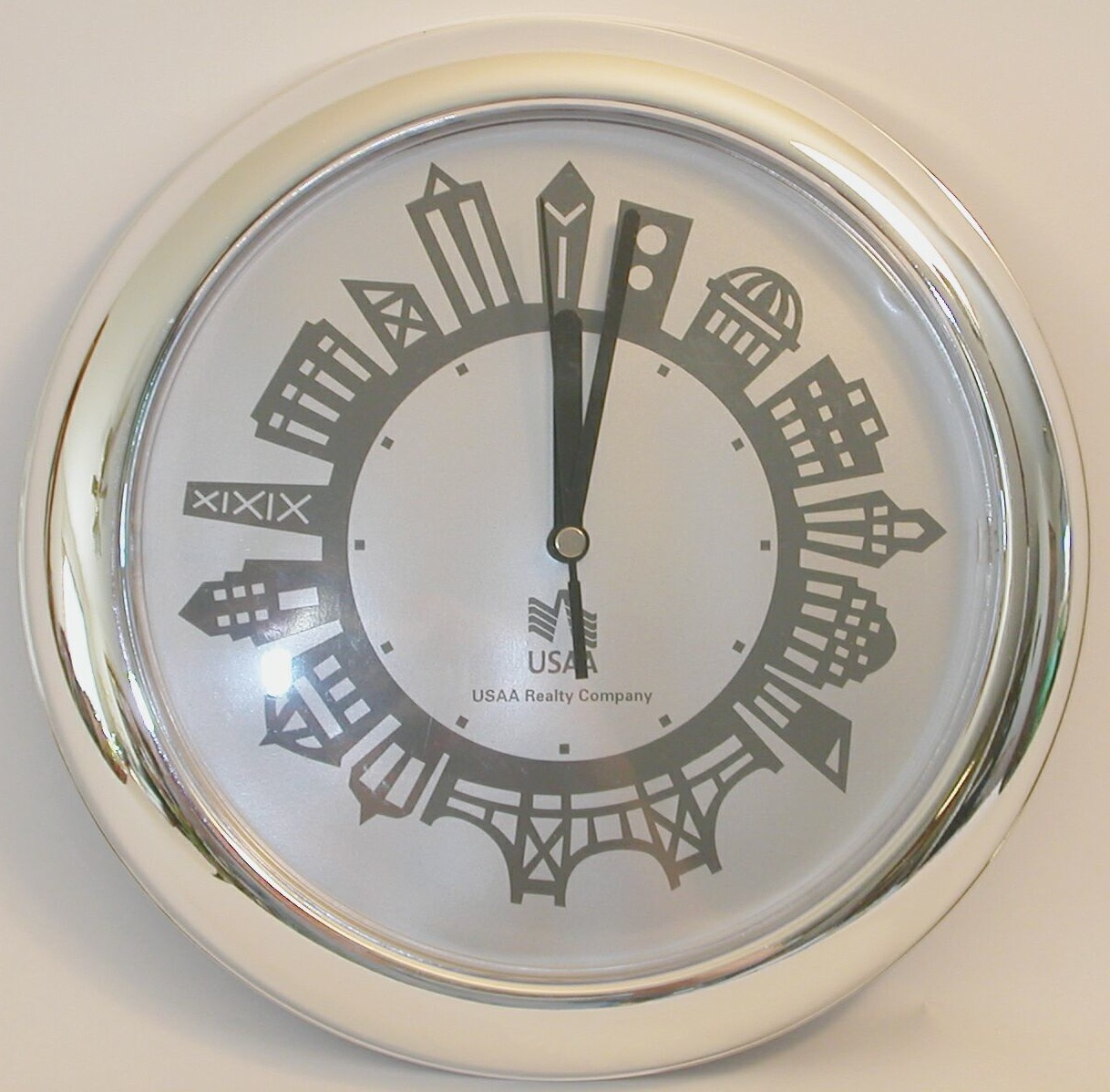 City of Chicago Wall Clock