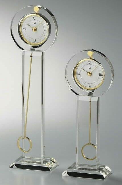 Crystal Round Pendulum Clocks