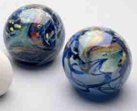 Dichroic Glass Paperweights
